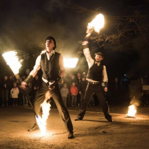 Детское Fire show (Огненное шоу) от студии Конфетти, Кривой Рог