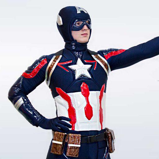 """Детская программа """"Капитан Америка"""" от студии Конфетти, аниматоры Кривой Рог"""