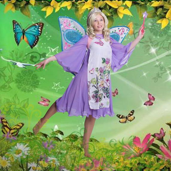 "Детская программа ""Фея-бабочка Марипоса"" (Барби) от студии Конфетти, Кривой Рог"