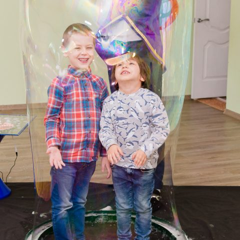 Шоу Мыльных пузырей для детей от студии Конфетти, Кривой Рог