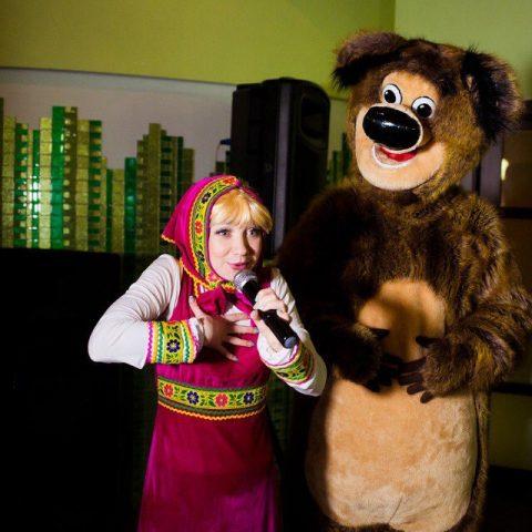 """Детская программа """"Маша и Медведь"""" от студии детских праздников Конфетти, Кривой Рог"""